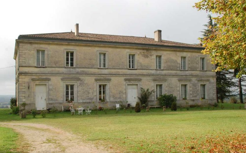 Château Directoire Entre 2 Mers